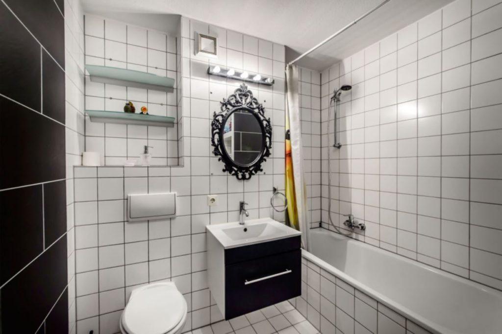 Expat Wohnung München - Denningerstraße - Bad