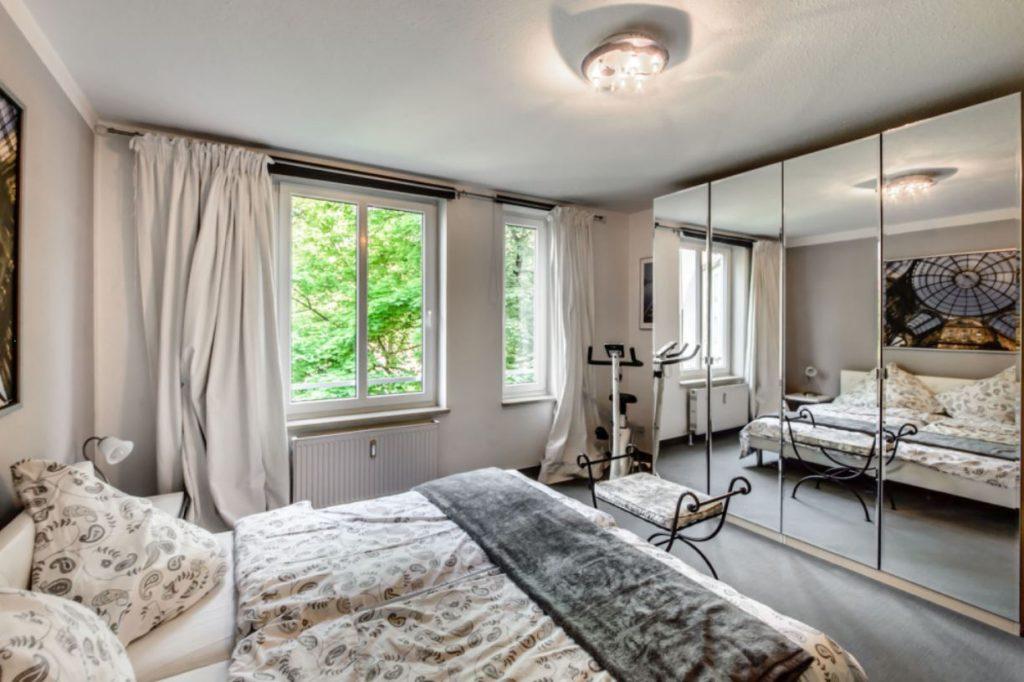 Expat Wohnung München - Denningerstraße - Schlafzimmer