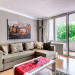 Expat Wohnung München - Denningerstraße - Wohnzimmer