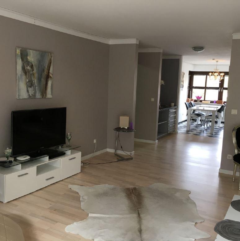 Expat Wohnung München - Engelschalkingerstraße - Wohnzimmer