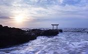 Tor im Meer